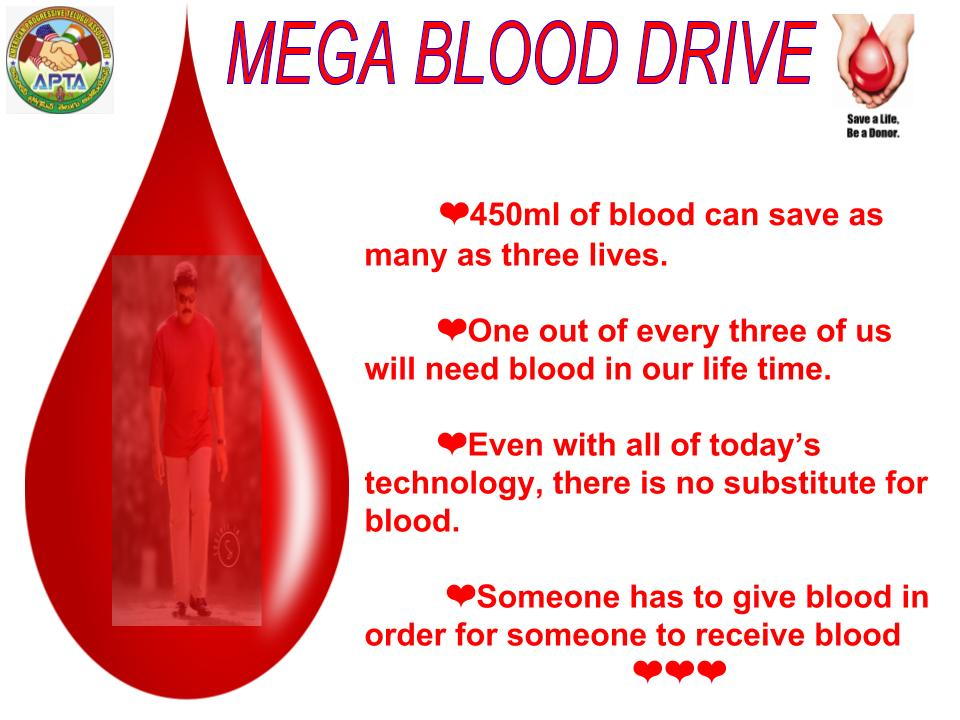 APTA Mega Blood Drive 2017